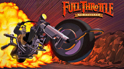 Full Throttle Remastered Tunes Up That Old Hog For Another Ride
