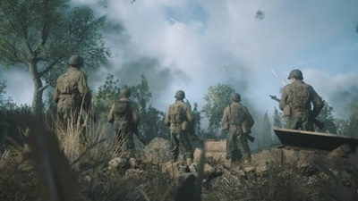 First screenshots of Call of Duty: WWII leak online