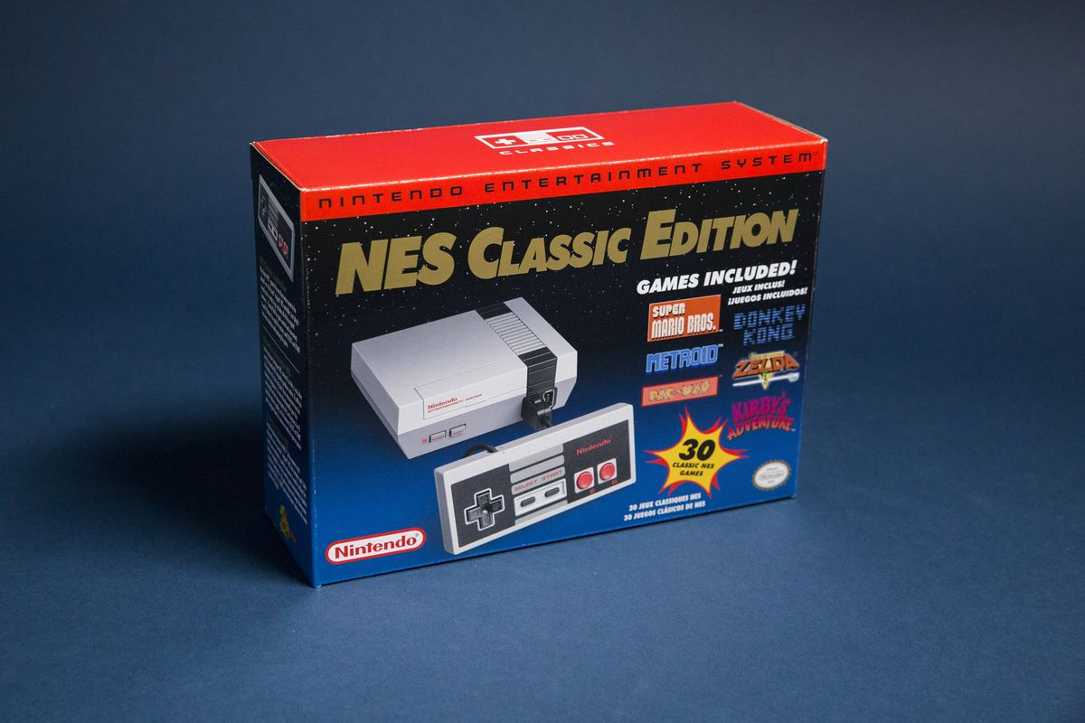 A very limited stock of NES Classics will be available at Best Buy tomorrow