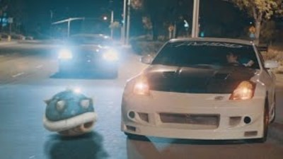 [Watch] Mario Kart Meets Fast and Furious Complete with Power Ups