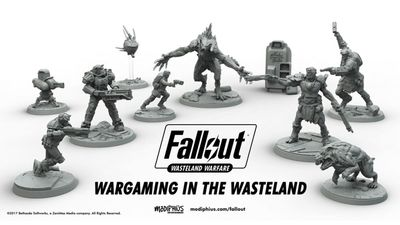 Fallout: Wasteland Warfare is a New Fallout Tabletop Game