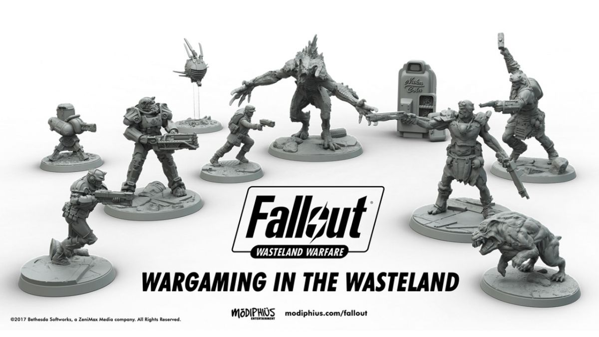 Fallout: Wasteland Warfare brings is a Power Armor, Super Mutants and Deathclaws to your tabletop