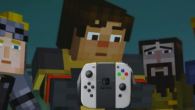 [Watch] Minecraft on Nintendo Switch is Looking Great