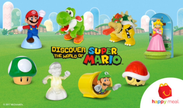 Nintendo preys on nostalgia, brings Mario Happy Meal toys back to McDonald's