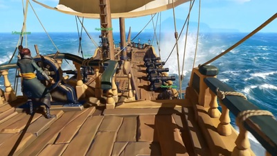 [Watch] Xbox's Phil Spencer Plays Sea of Thieves, Has Tons of Fun