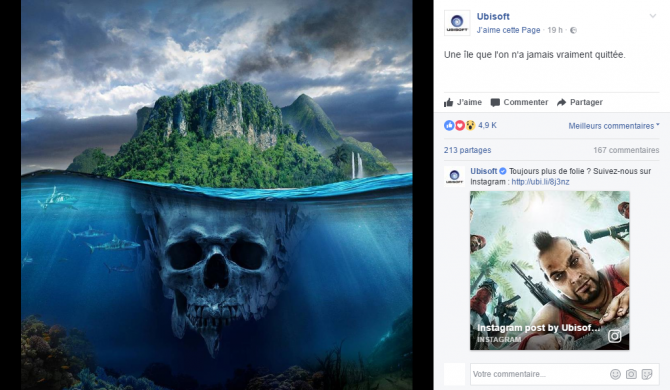 Rumor: Ubisoft Teases Something Far Cry Related, But... It's Far Cry 3?