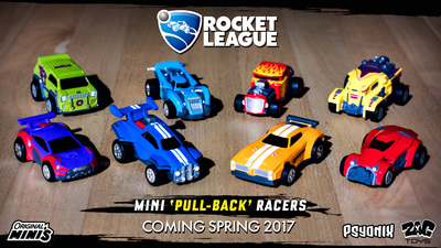 Rocket League is bringing its Pull Back Racer toys to North America next month