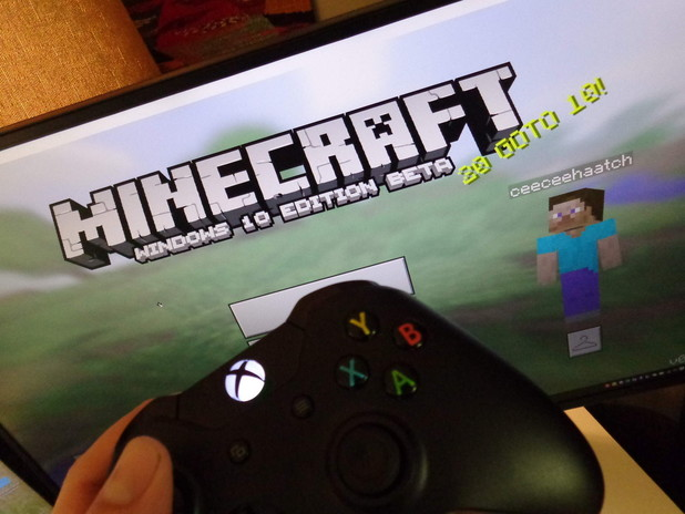 Minecraft's Windows 10 Edition Coming to Xbox One, 4K on Project Scorpio