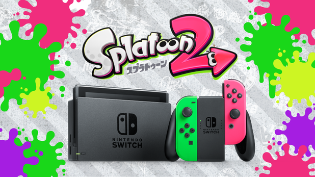 New Nintendo Switch Bundle Announced with Splatoon 2 and New Jon-Con Colors in Japan