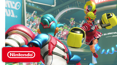 Here's How Big The File Size For ARMS Is On Nintendo Switch