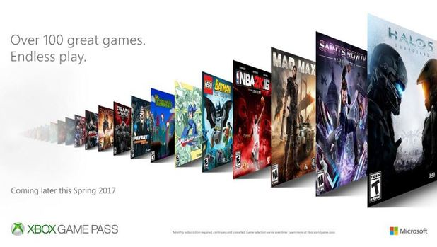 All the Xbox One, 360 games available in Xbox Game Pass at launch