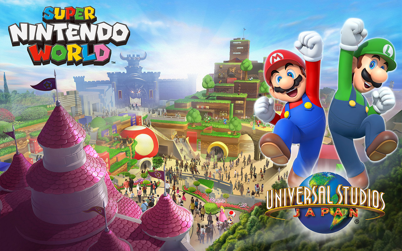 Nintendo's theme park unveiled... little by little