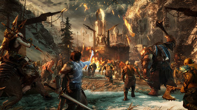 """Monolith Aims to Make Shadow of War as Polished as Mordor; E3 Build is """"Light Years Ahead"""""""