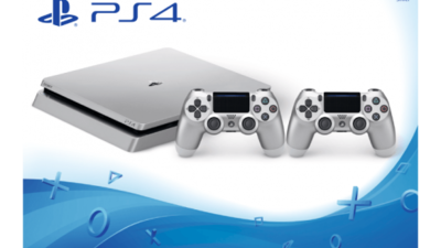 Silver Playstation 4 Slim Revealed and Pictured.