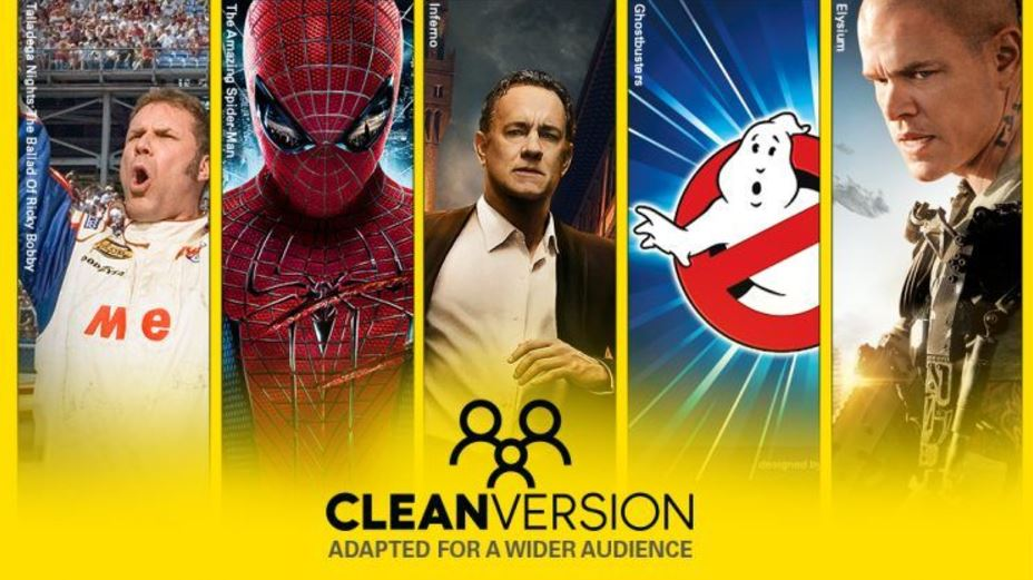 Sony is launching a 'Clean Version' initiative that will let users watch films at home without 'certain mature content'