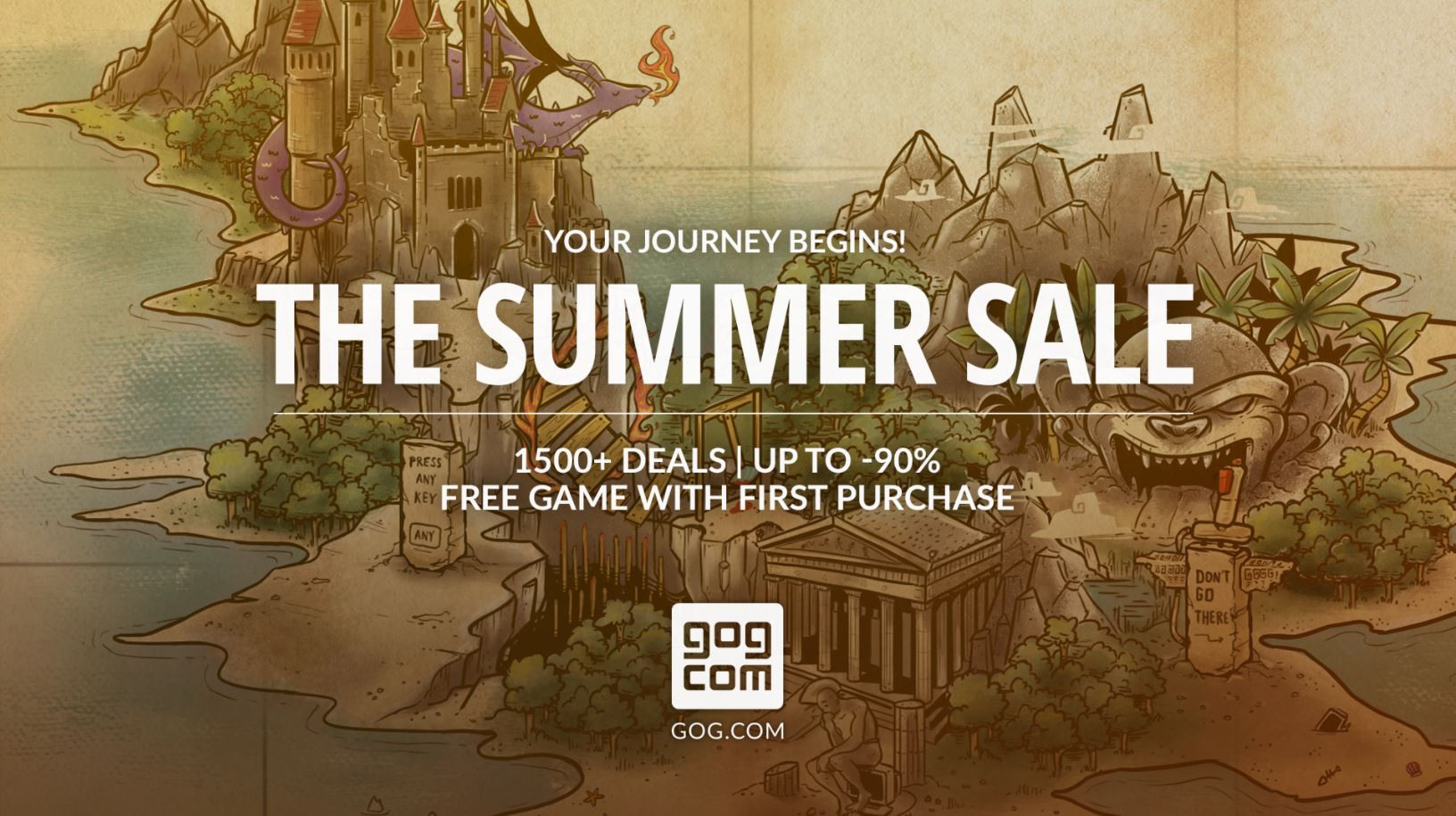 GOG unleashes their annual Summer Sale with discounts galore