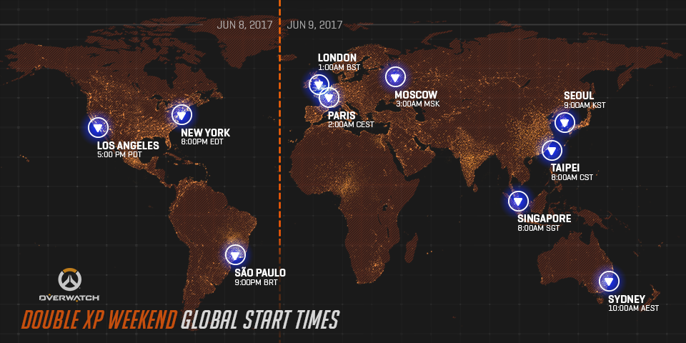 Overwatch Gets Double XP This Weekend, Here Are the Times