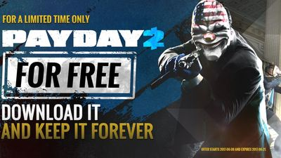 Payday 2 is being given away for free on Steam right now