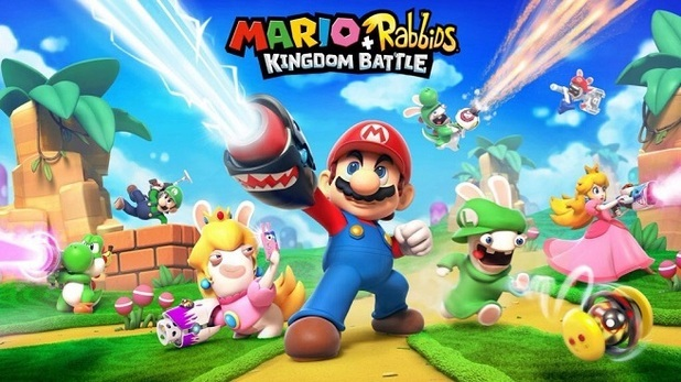 Mario meets Rabbids in tactical Kingdom Battle