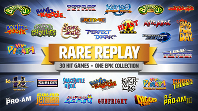 You can grab Rare Replay for free this week if you tune into Xbox Daily on Mixer