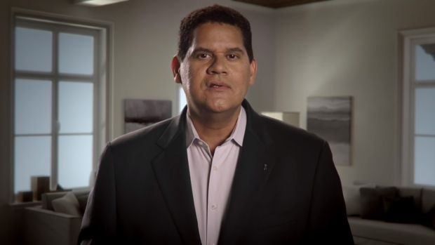 Nintendo's Reggie Fils-Aimé Talks Switch and About Being a Meme