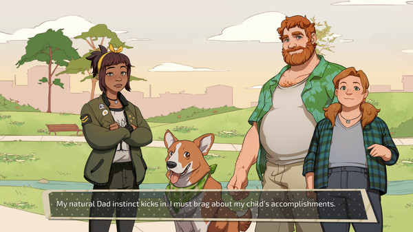 Game Grumps Announced a Game Called Dream Daddy Where Dads Dating Other Hot Dads