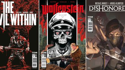 Wolfenstein, The Evil Within, and Dishonored are all getting comics courtesy of Titan Comics