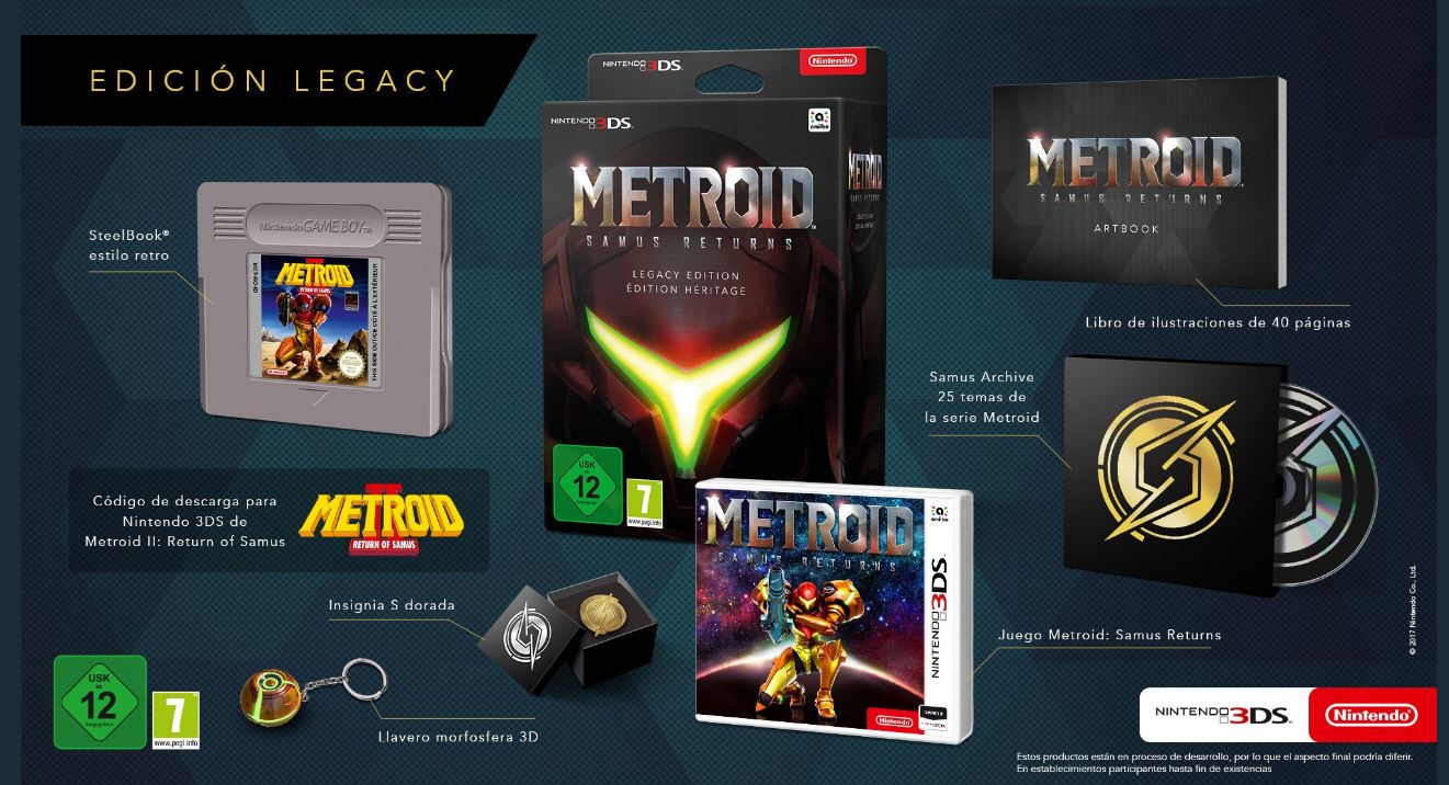Samus Returns' Special Edition Steelbook is a Giant Game Boy Cartridge — Metroid
