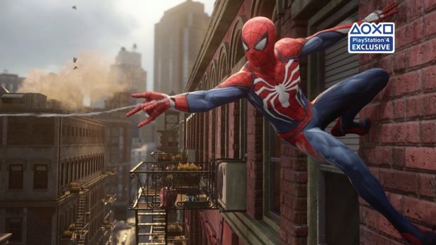Insomniac Describes the Comparison Between Spider-Man on PS4 vs PS4 Pro