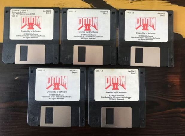 John Romero is selling the original copy of Doom 2