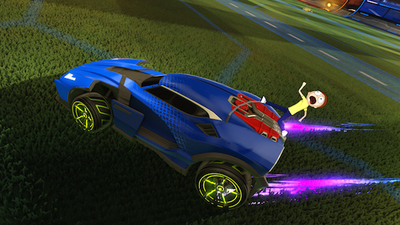 Rick and Morty content coming to Rocket League