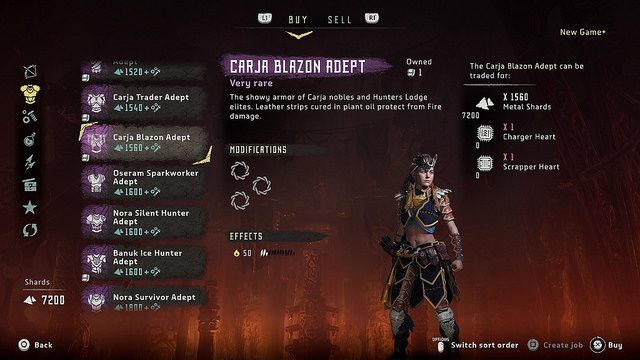 Horizon Zero Dawn Patch 1.30 Adds New Game+, Ultra Hard Difficulty
