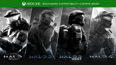 Halo 1, 3, ODST, and 4 are coming to Xbox One via backward compatibility with DLC