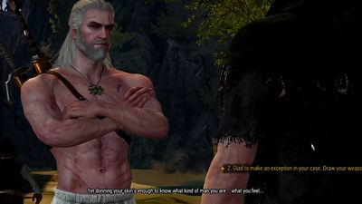 [Watch] Someone beat all 84 bosses in The Witcher 3 without taking damage, in Geralt's underwear, and more