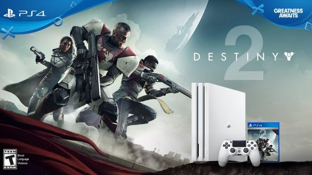 Sony Announces a Limited Edition Destiny 2 Glacier White PS4 Pro Bundle