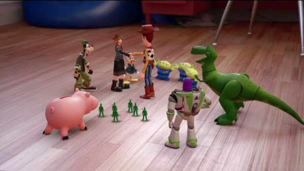 Kingdom Hearts III Toy Story World Announcement & 2018 Release Window