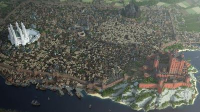 Kings Landing in Minecraft 3 years later is bigger and better