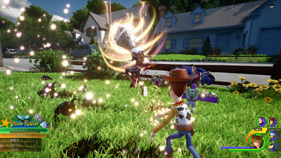 Kingdom Hearts 3 Gets New Screenshots Showing Off a Toy Story World