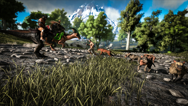 how to join xbox ark server on pc
