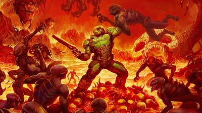"John Romero reveals the identity of ""Doomguy"""