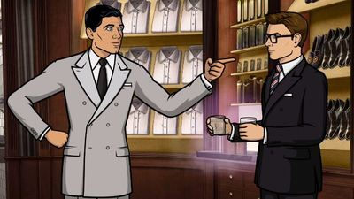[Watch] SDCC 2017: Archer meets Eggsy in a hilarious animated promo for 'Kingsman: The Golden Circle'