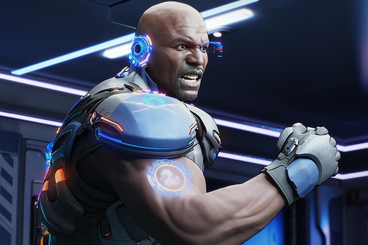 Terry Crews Looks Awesome in Crackdown 3's Cinematic Screenshot