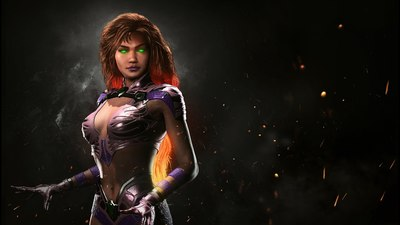 Here's your first look at Starfire and Bizarro in Injustice 2