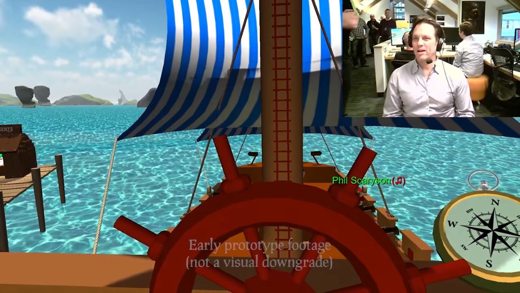 [WATCH] Sea of Thieves reveals Phil Spencer going hands-on in super early prototype footage in new video