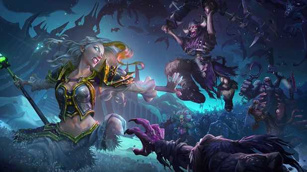 Blizzard Shows Off New Death Knight Heroes in Hearthstone's Latest Expansion