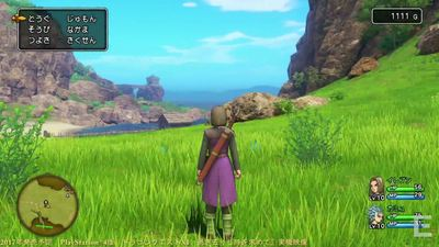 Dragon Quest 11 has zero framerate drops on PS4