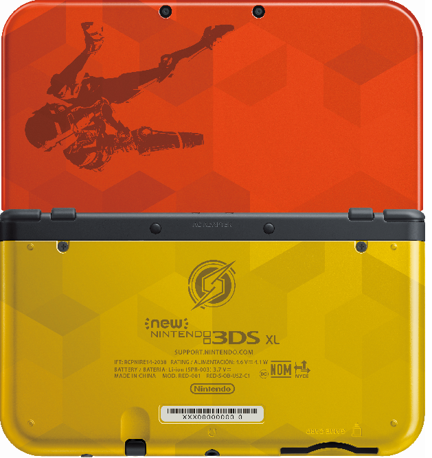 Metroid: Samus Returns Releases Next to an Awesome New Custom 3DS XL