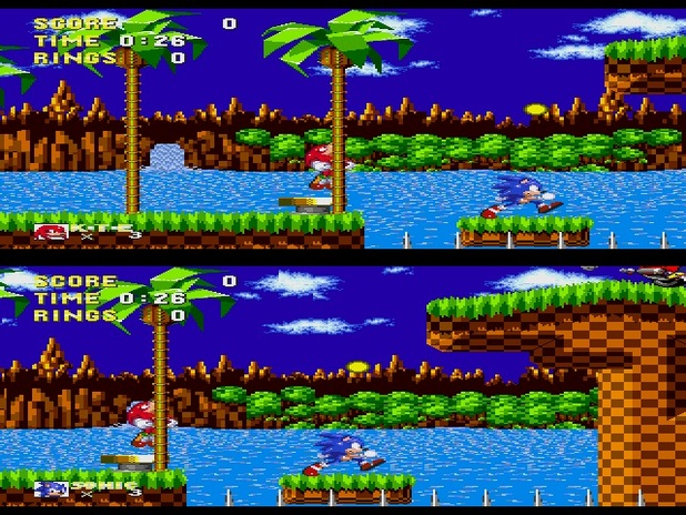 Sonic Mania reveals first footage of Competition Mode