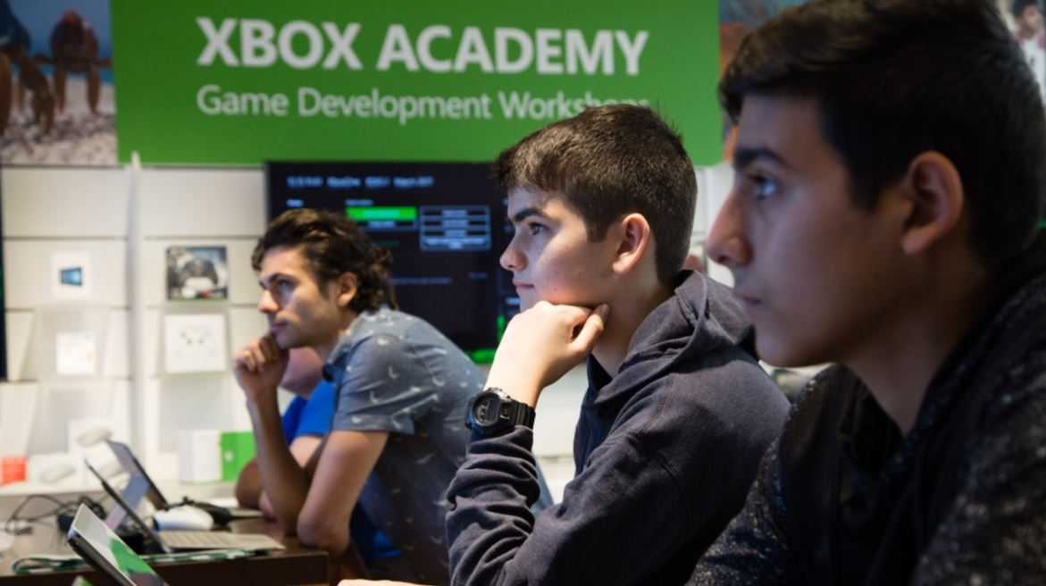Kids can learn to code Xbox and PC games at Microsoft stores