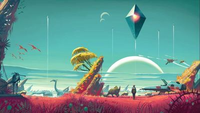 No Man's Sky's new Joint Exploration shows players as only a floating orb